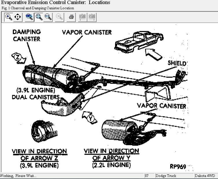 Dodge Dakota 39 V6 Engine Diagram