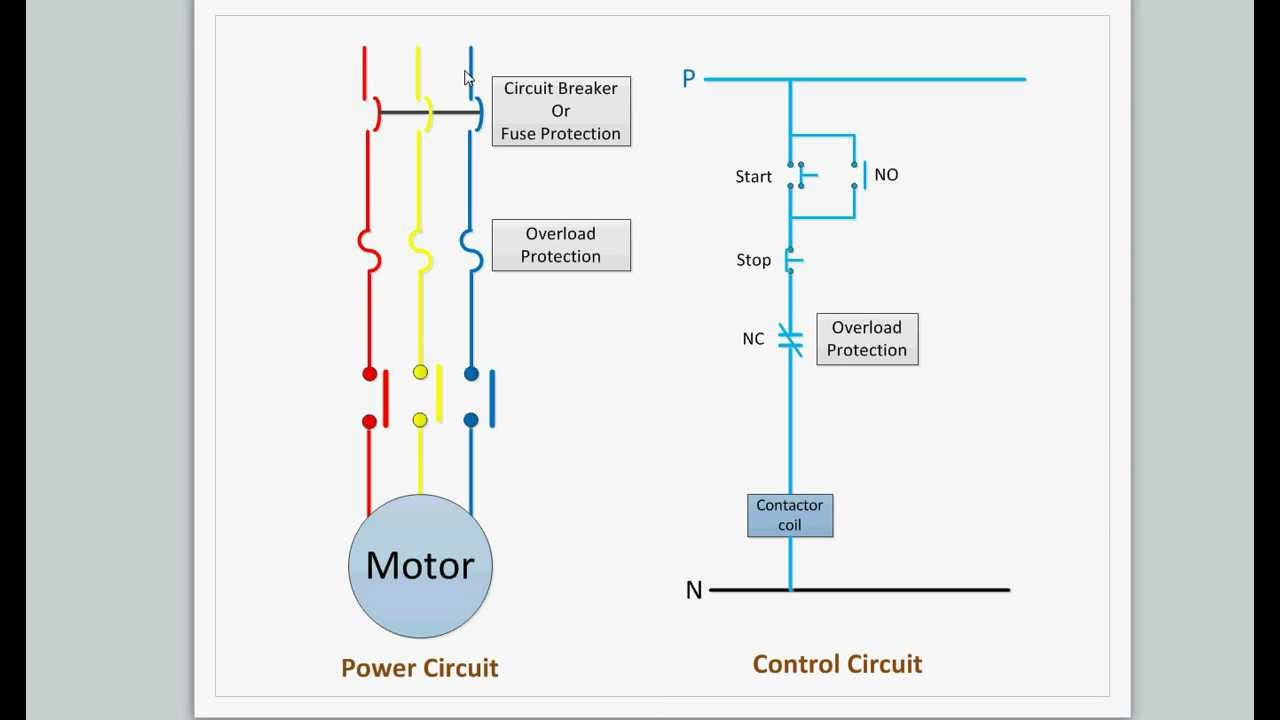 Motor Starter Control Wiring