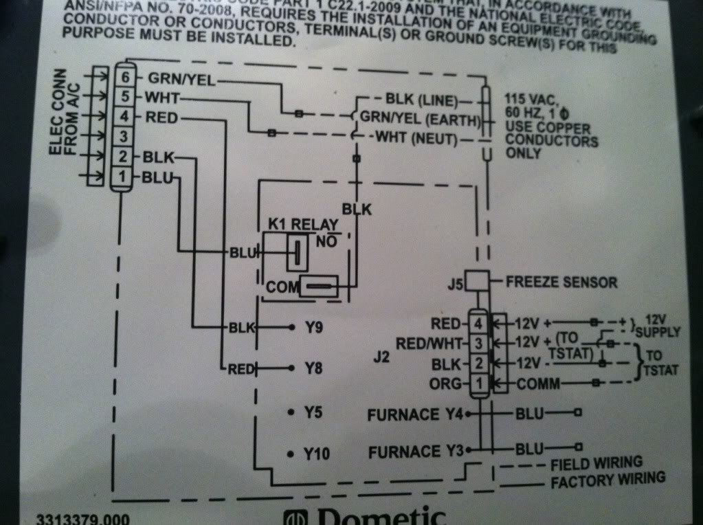 Dometic og Thermostat Wiring Diagram on compressor wiring diagram, economizer wiring diagram, evaporative cooler wiring diagram, cooling tower wiring diagram, fan coil unit wiring diagram, chiller wiring diagram, low ambient wiring diagram, reversing valve wiring diagram, refrigeration wiring diagram, air handler wiring diagram, water heating wiring diagram, air conditioning wiring diagram, thermostat wiring diagram, hvac wiring diagram, dehumidifier wiring diagram, crankcase heater wiring diagram, flow switch wiring diagram,