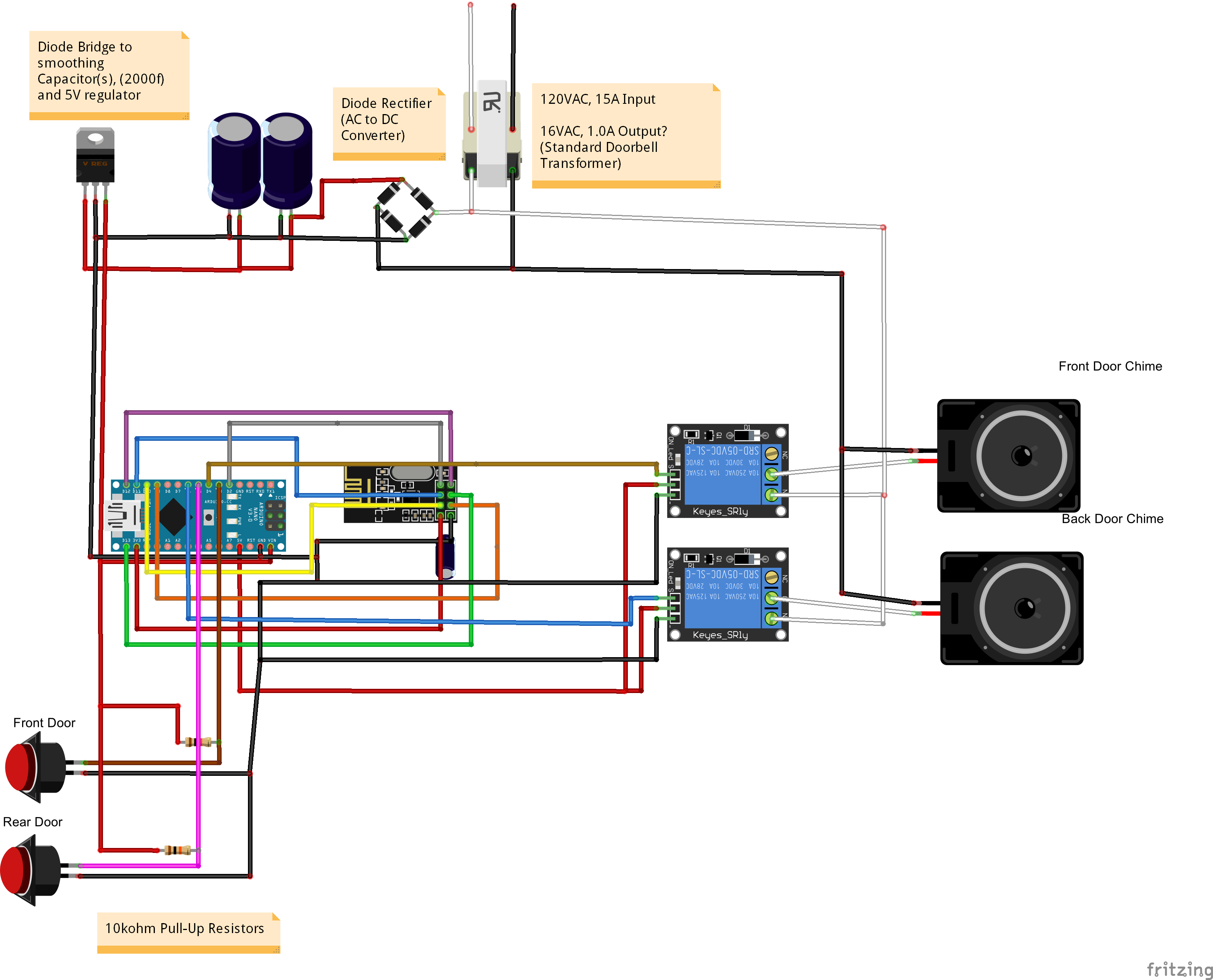 Doorbell Chime Wiring Diagram from schematron.org