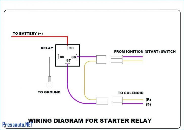 Dorman 4 Pin Relay Wiring Diagram