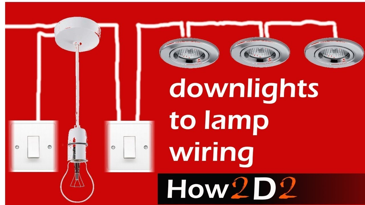 Downlight Transformer Wiring Diagram