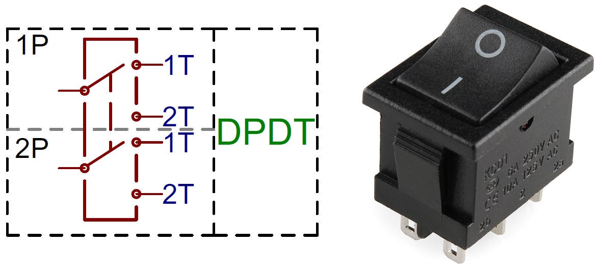 Dpdt Rocker Switch Momentary On Wiring Diagram For Sunroof