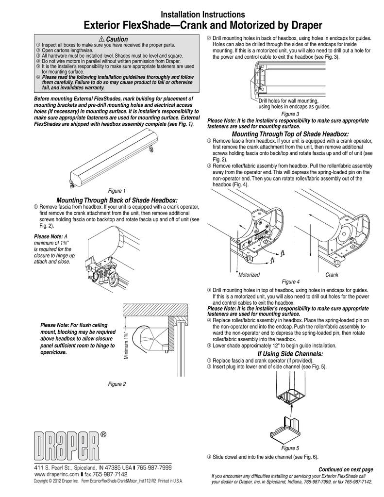 Draper Shade Control Switch Wiring Diagram