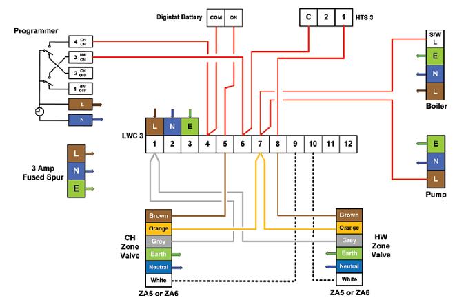 Diagram Drayton Scr Wiring Diagram