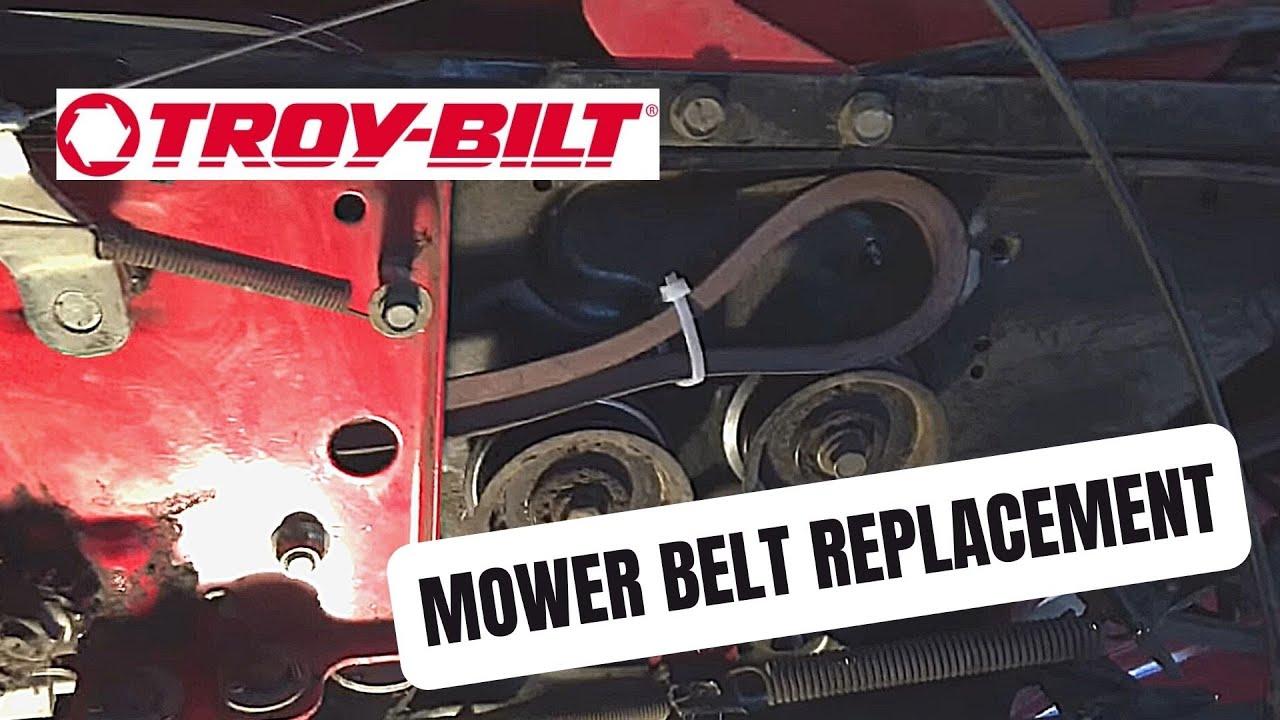 Drive Belt Diagram Troy Bilt Bronco