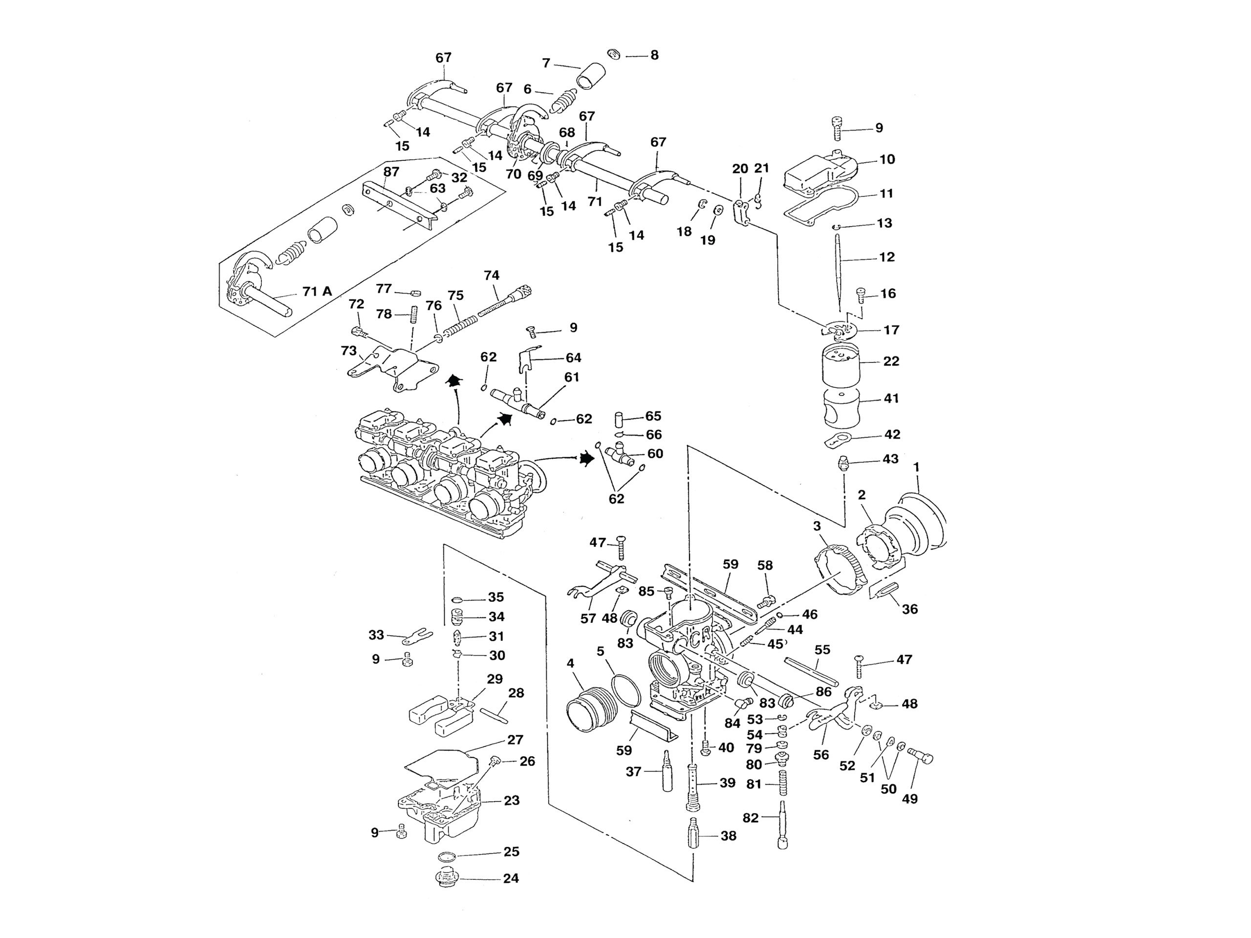 Ds650 Carburetor Diagram