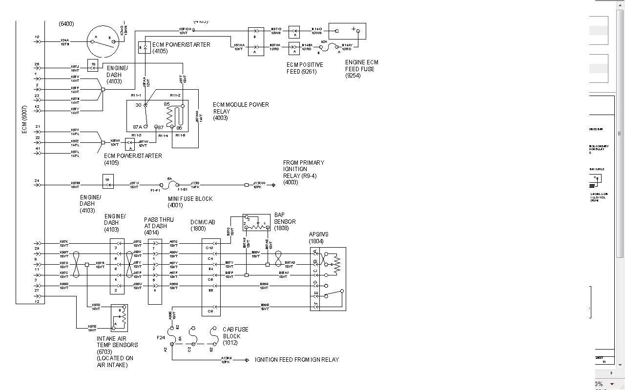 Dt466 Starter Wiring Diagram on