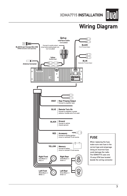 Dual Radio Xd1228 Wiring Diagram Wiring Diagram
