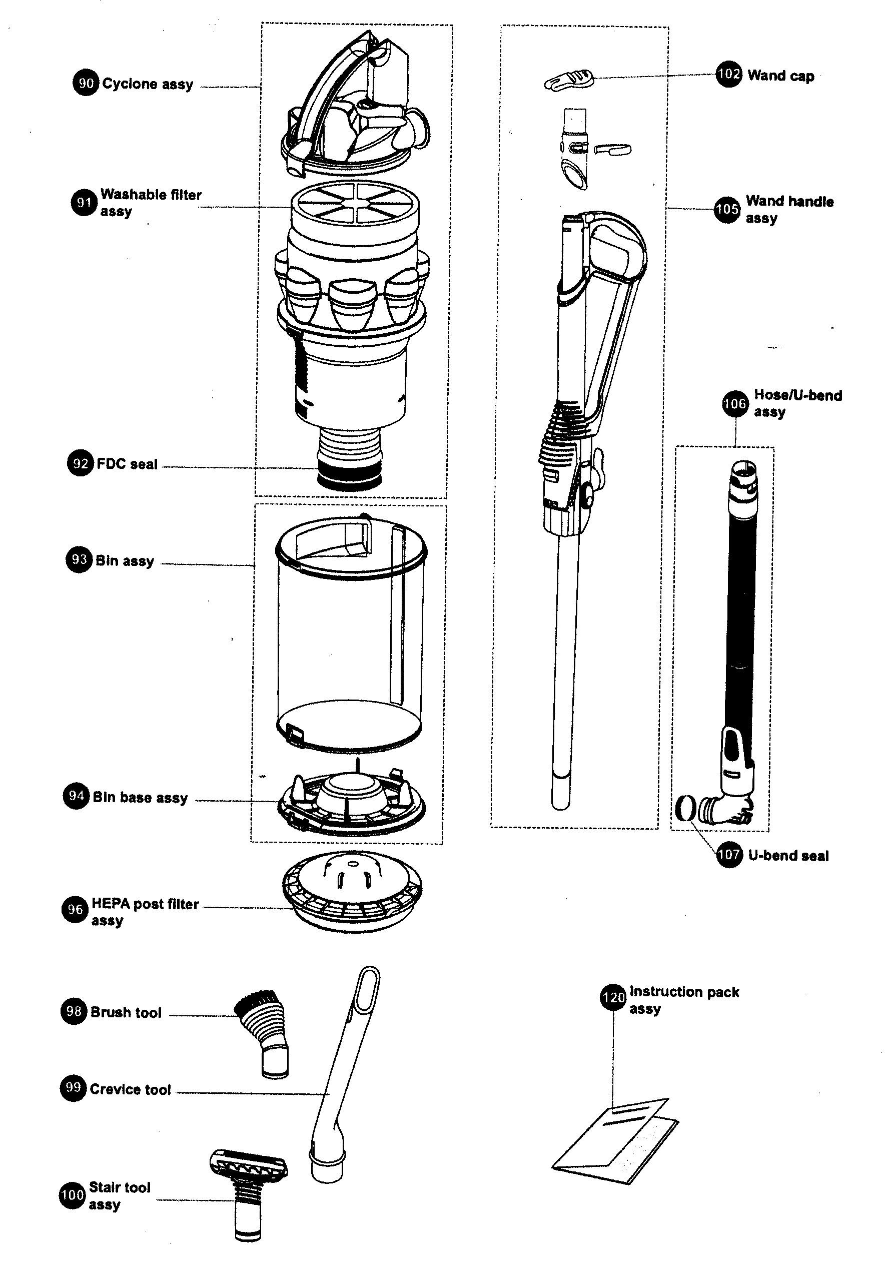 Dyson Dc41 Parts Diagram
