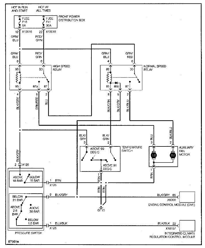 E36 M3 Aux Fan Switch Wiring Diagram
