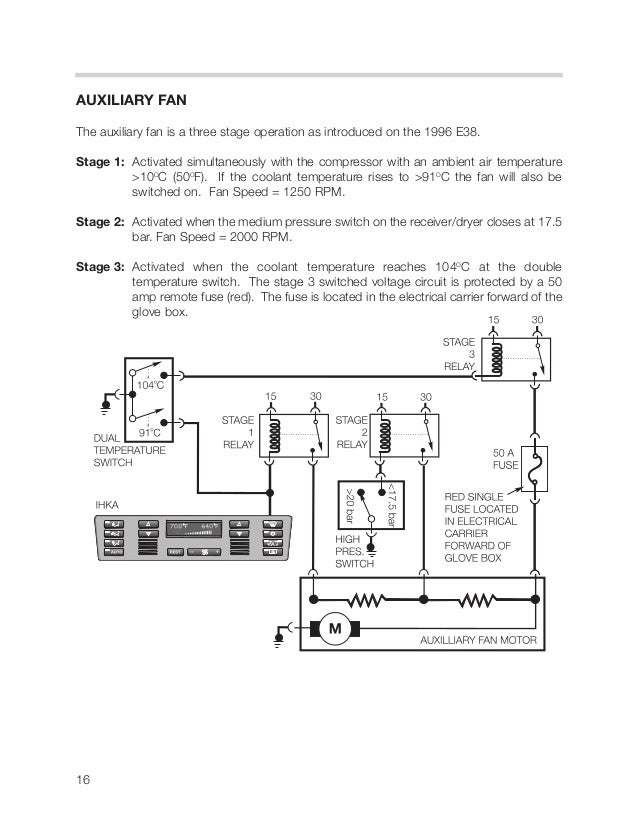 E39 Auxiliary Fan Wiring Diagram