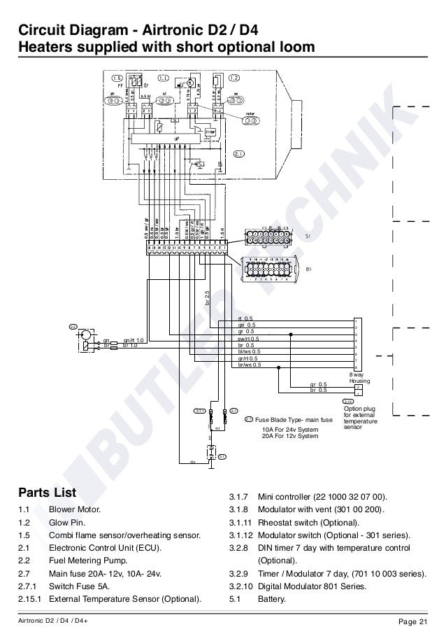 Espar Heater Wiring Diagram from schematron.org