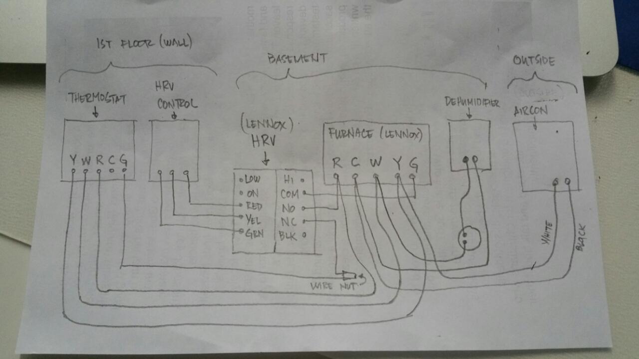 Ecobee 3 Wiring