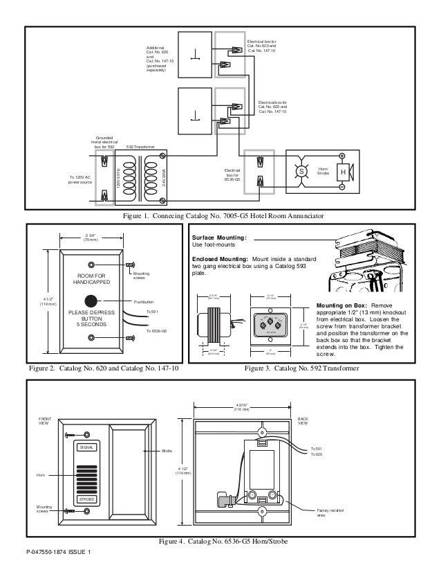 Edwards 596 Transformer Wiring Diagram
