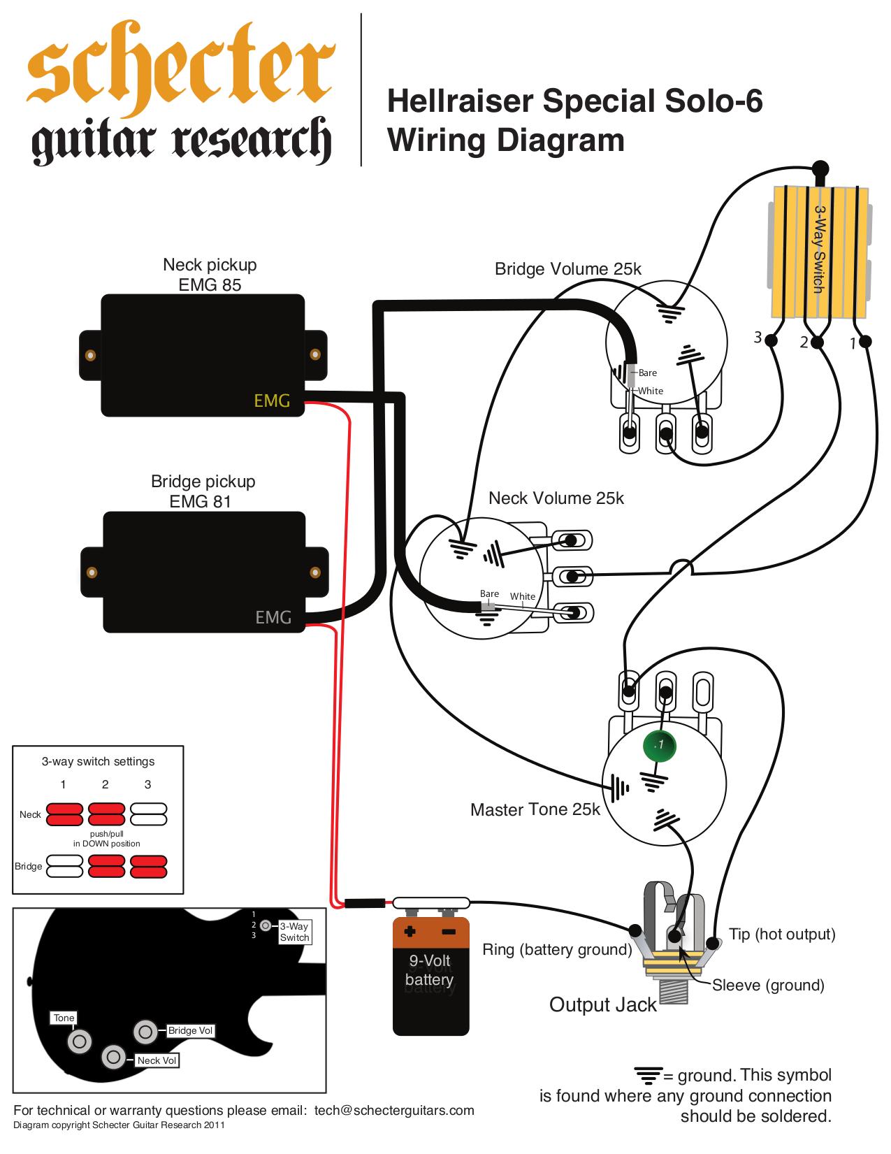 H2a Emg Pickup Wiring Diagrams | Wiring Resources 2019 H A Emg Pickup Wiring Diagram on