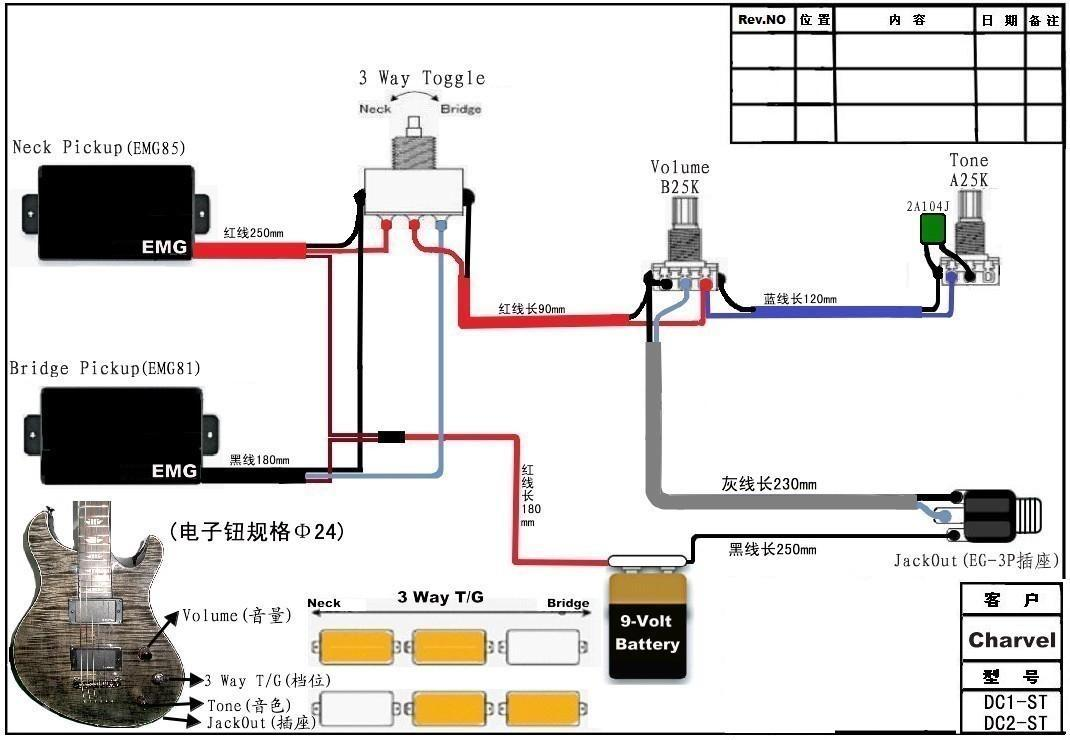 Emg Select Pickup Wiring Diagram