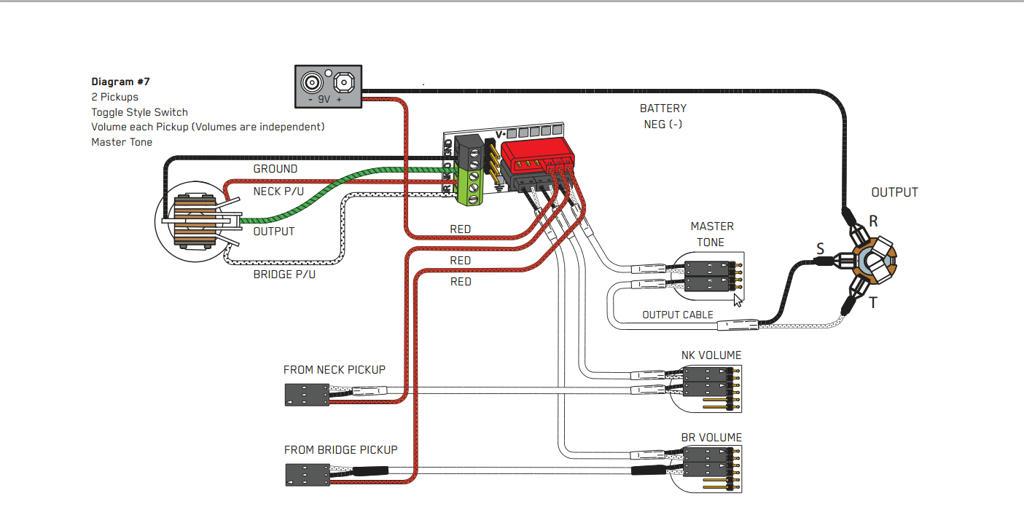 Emg Wiring Diagram 1 Volume 1 Tone 1switch
