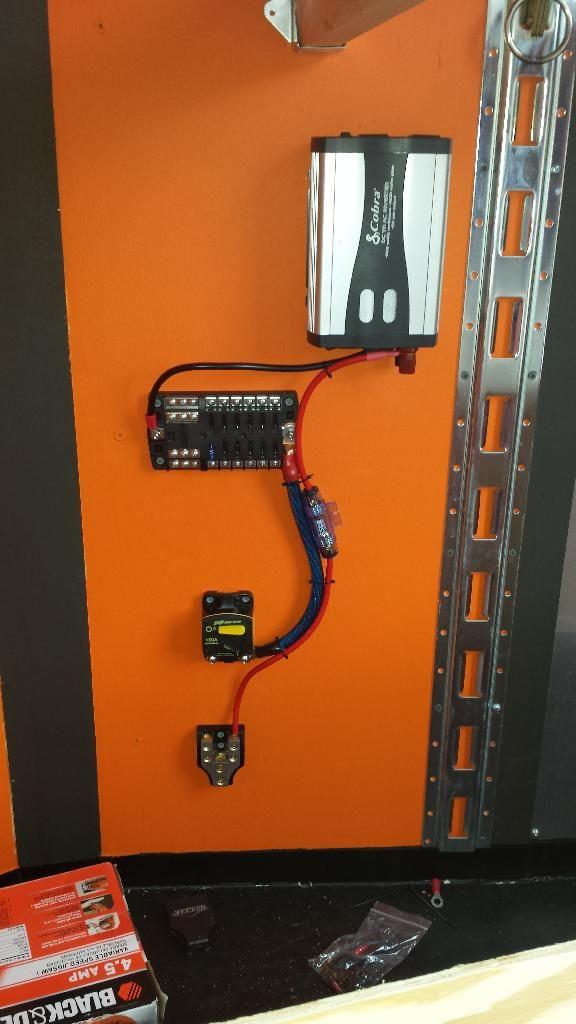 Enclosed Trailer 110v Wiring Diagram