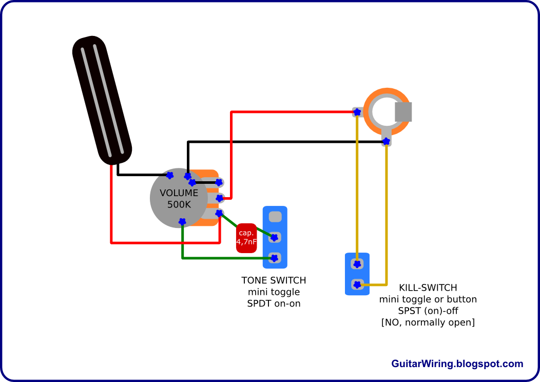 Evh Frankenstein Humbucker Wiring Diagram