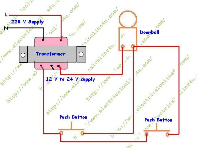 doorbell wiring diagram standard wiring diagramdoorbell chime wiring diagram online wiring diagram data