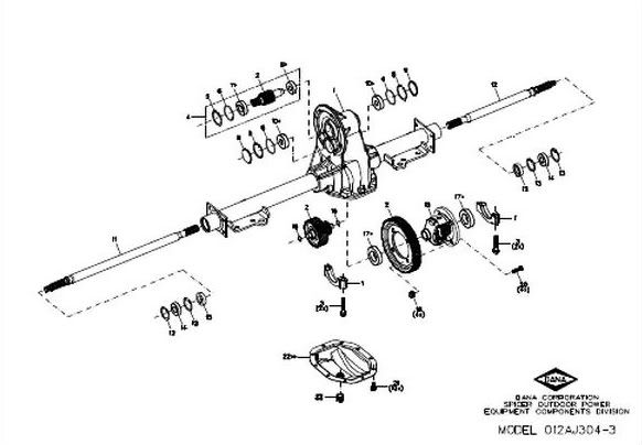 Ezgo Differential Diagram