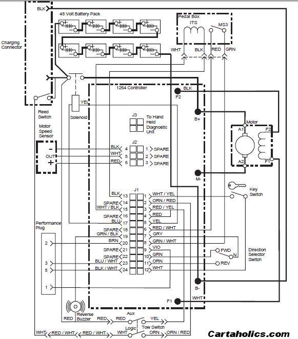 Ezgo Txt 36 Volt Shift Lever Wiring Diagram Ezgo Txt Wiring Diagram on