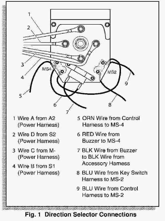 Ezgo Txt Forward Reverse Switch Wiring Diagram
