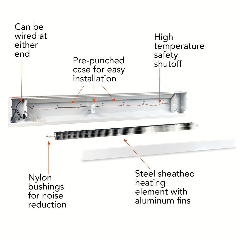 How To Install A Cadet Electric Baseboard Heater Manual Guide