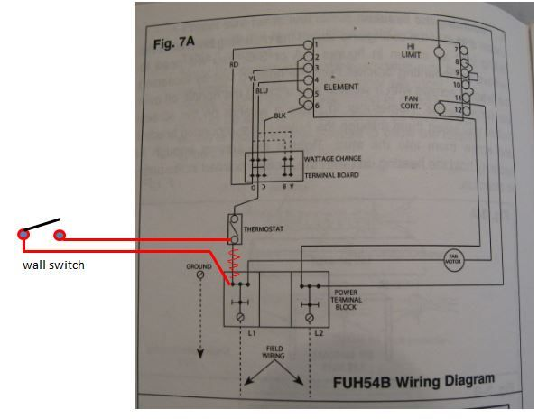fahrenheat wiring diagram. Black Bedroom Furniture Sets. Home Design Ideas