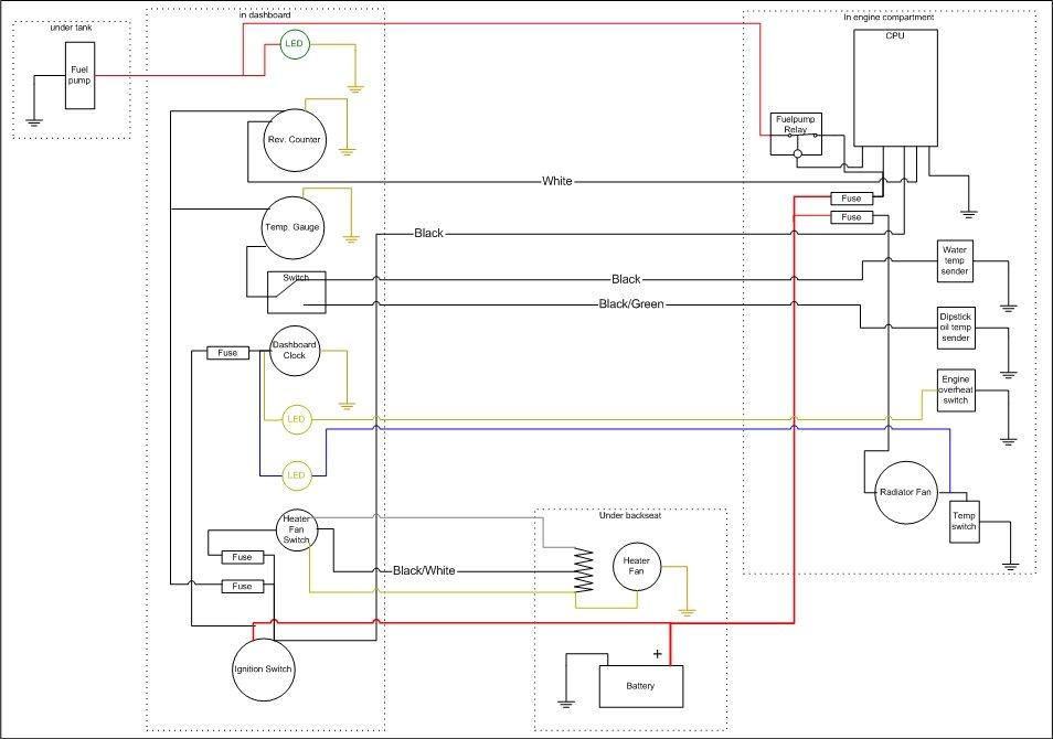Faria Wiring Schematic. . Wiring Diagram on