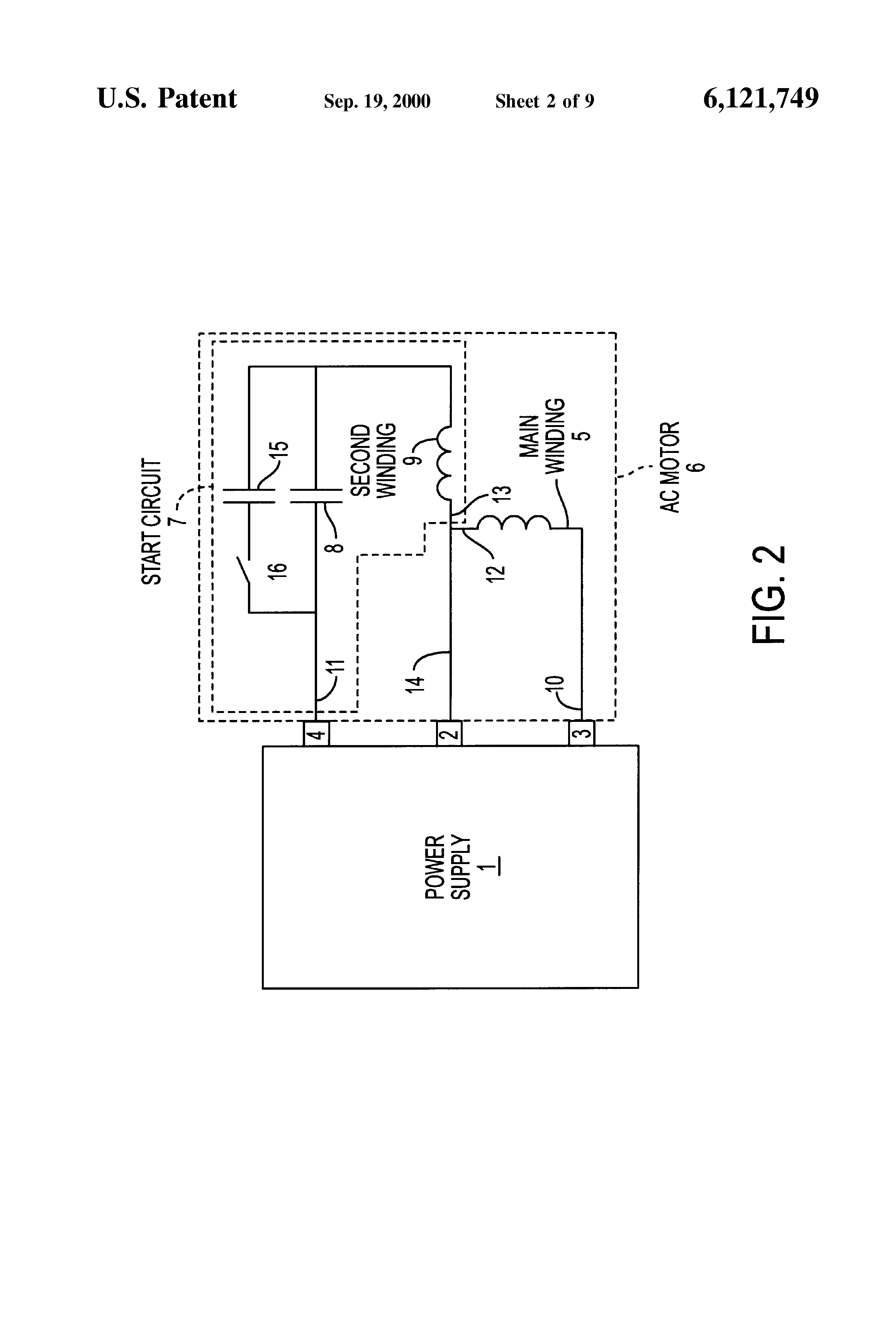 Fasco 9721 Wiring Diagram