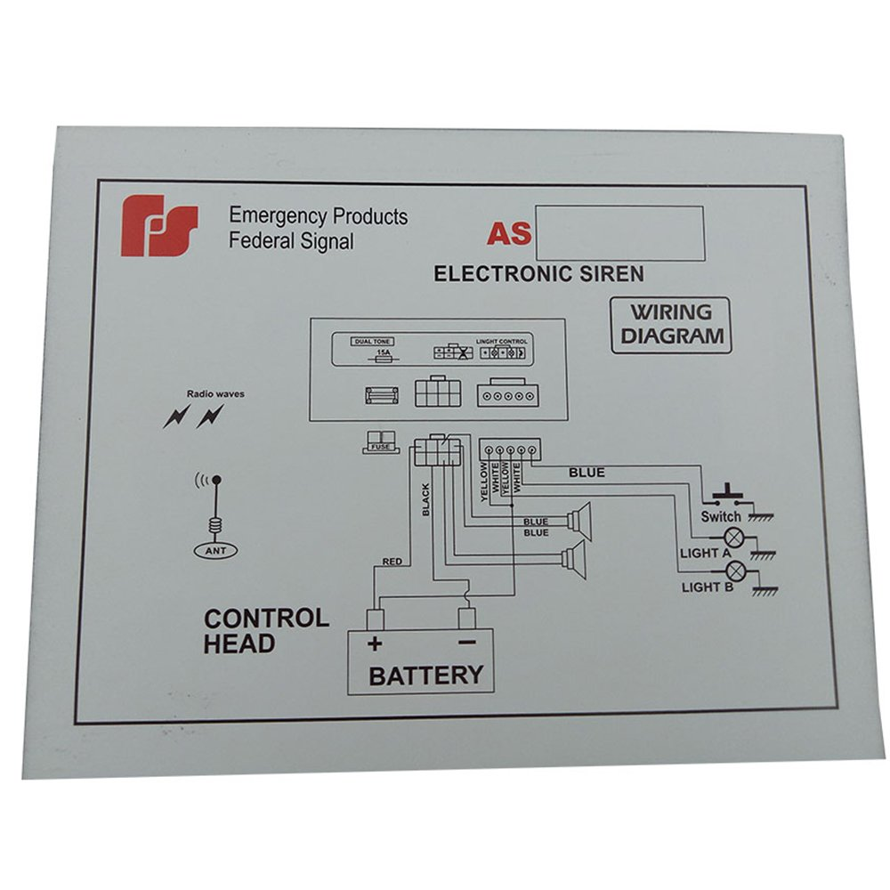 Federal Signal Fa3 Flasher Wiring Diagram