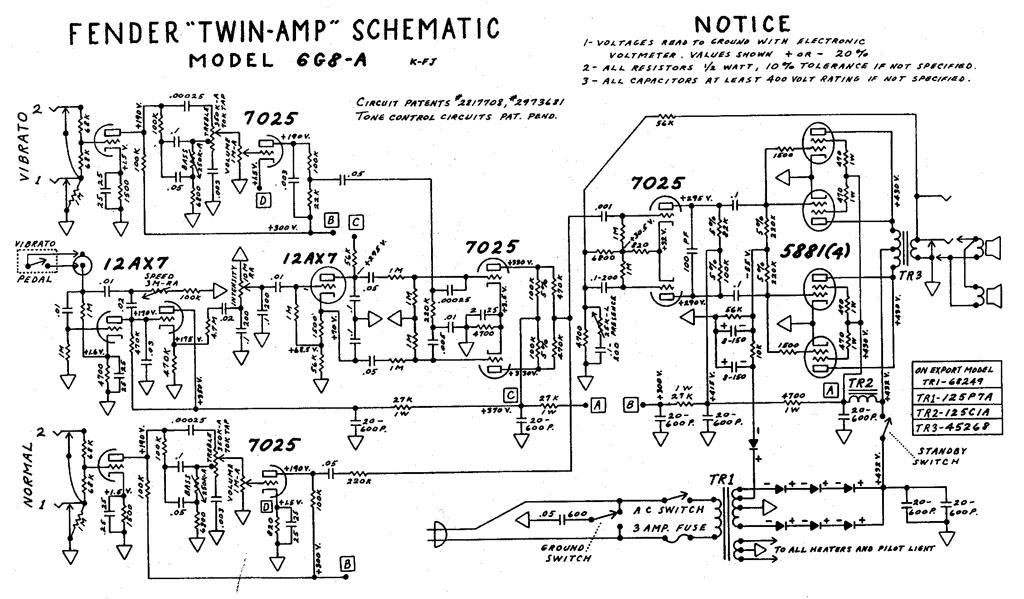 Fender Champ 12 Ll66385 Wiring Diagram
