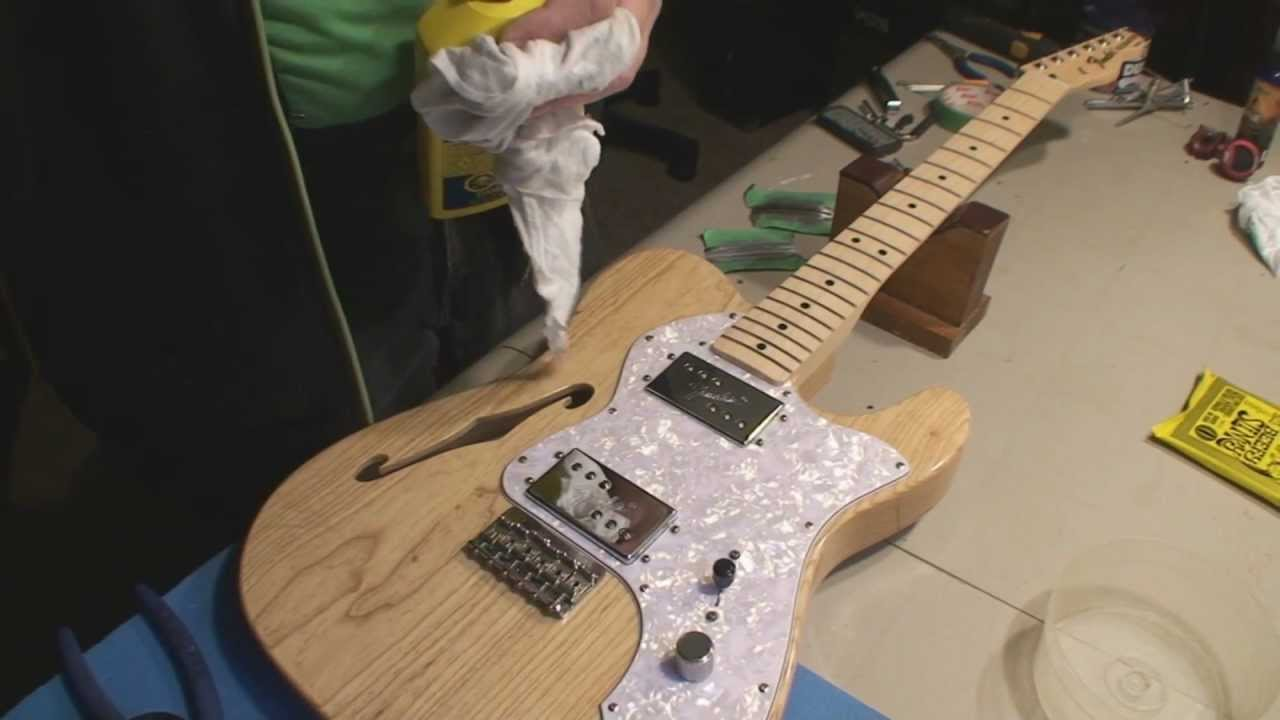 Fender Classic Series 69 Telecaster Thinline Mim Wiring
