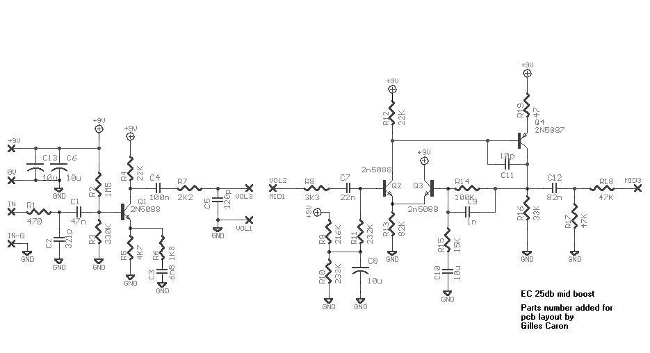 Fender Mid Boost Wiring Diagram