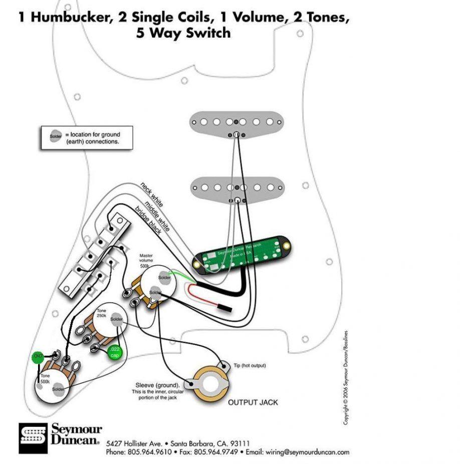 Fendwr Strat Wiring Diagram 2 Tones 1 Vol from schematron.org