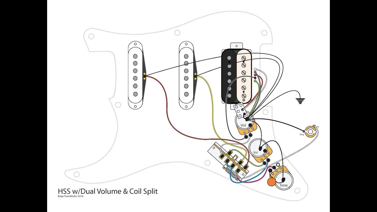 Fender Stratocaster Hss Wiring Diagram