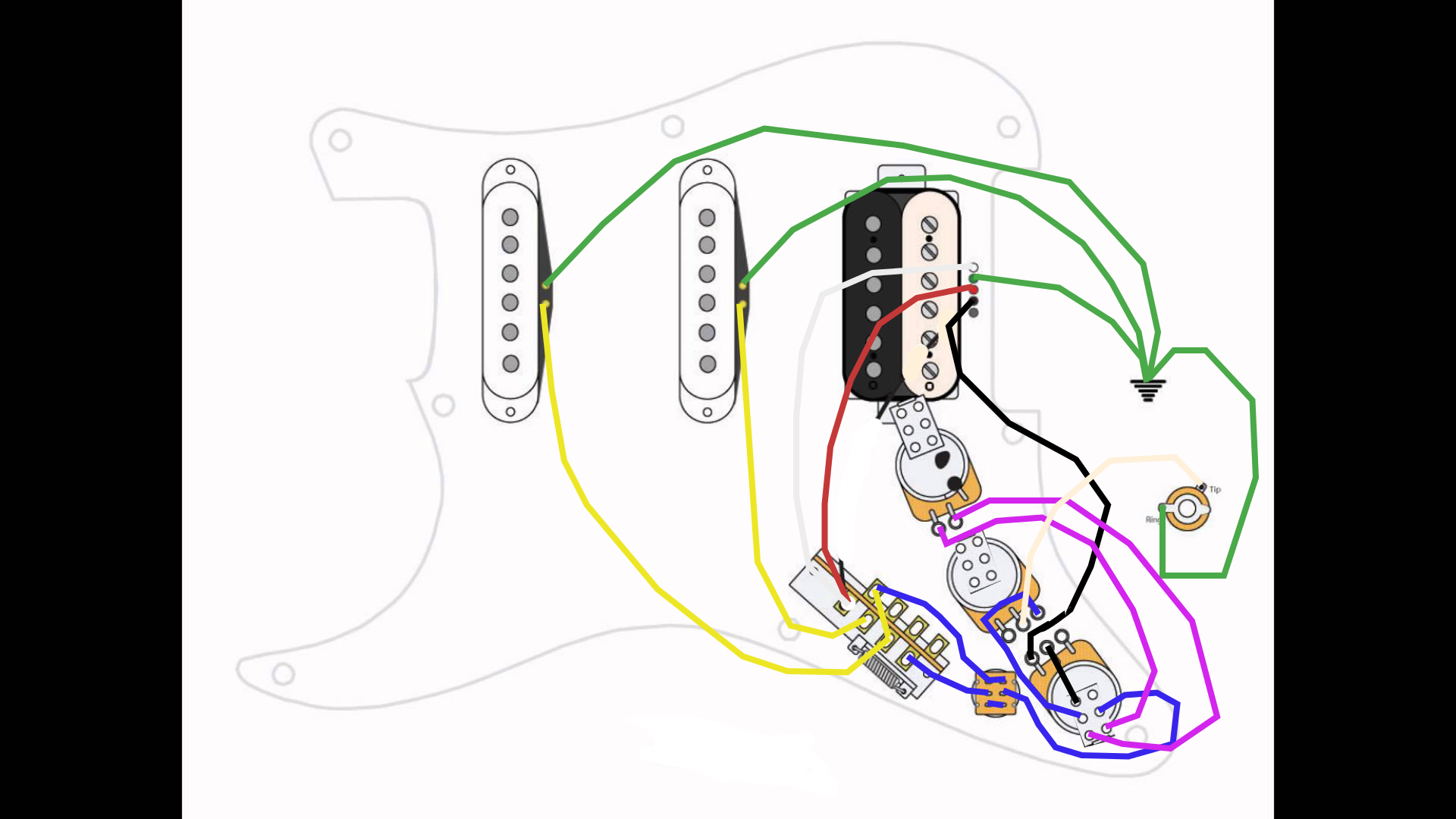 Fender Stratocaster Sss Wiring Diagram 5 Way