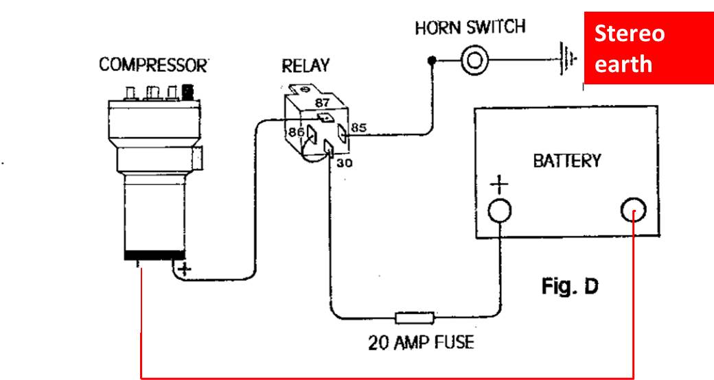 Fiamm Air Horn Wiring Diagram on
