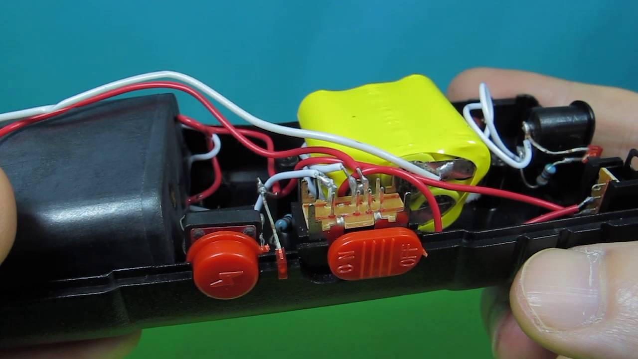 Flashlight Taser Wiring Diagram