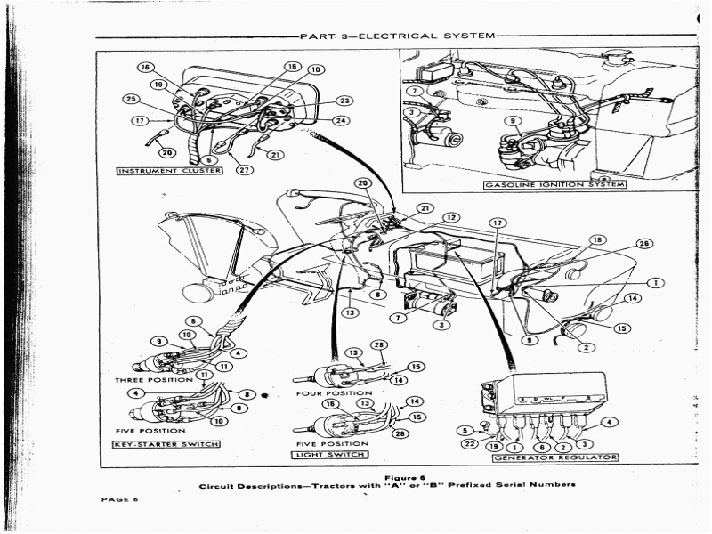 oliver 550 wiring diagram, oliver on ford 6610 shop ford tractor