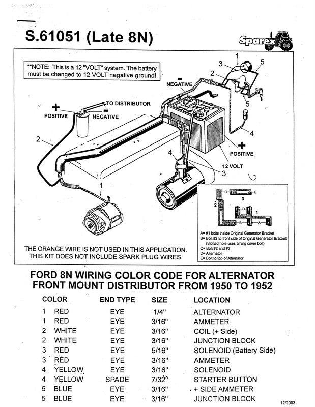 Ford 9n Wiring Diagram 12 Volt Conversion