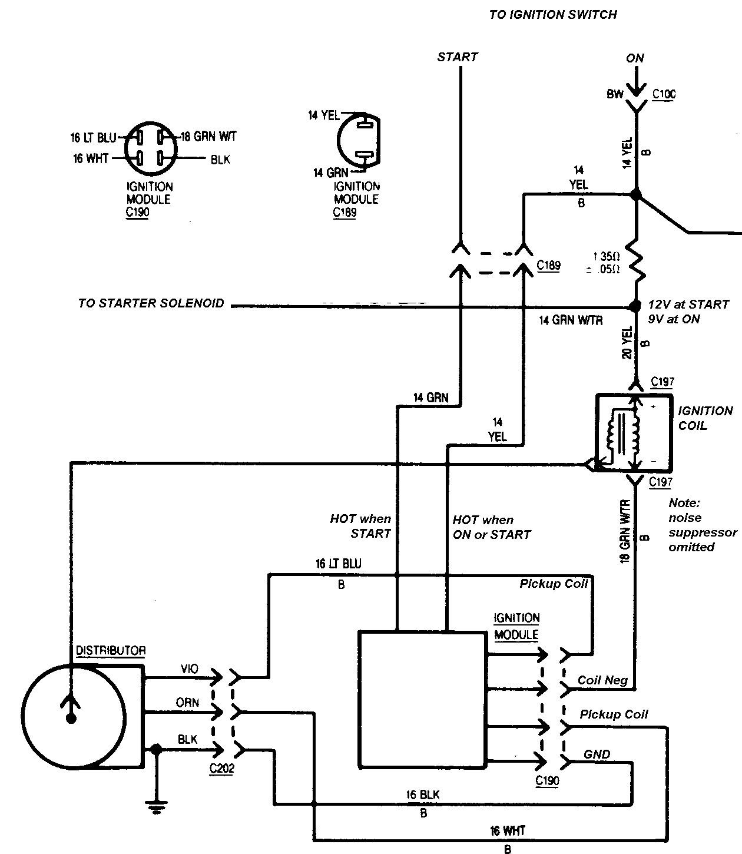 Ford Duraspark Ignition Module Wiring on