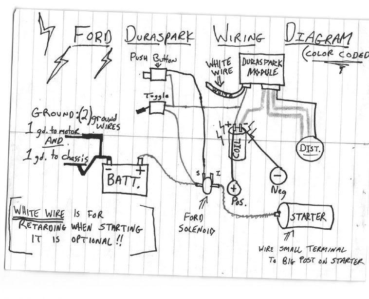 Ford Duraspark Ignition Wiring Diagram