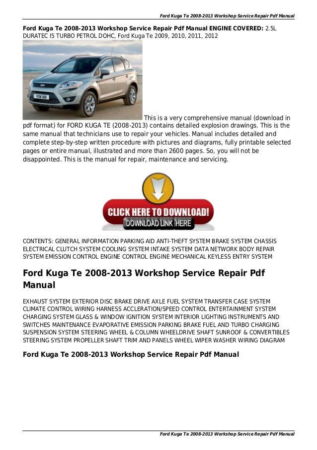 ford focus repair manual wiring diagram on