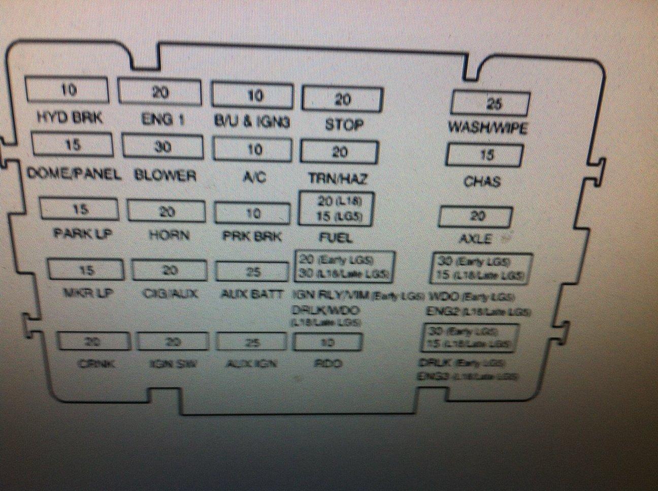 Freightliner Cascadia Fuse Box Diagram