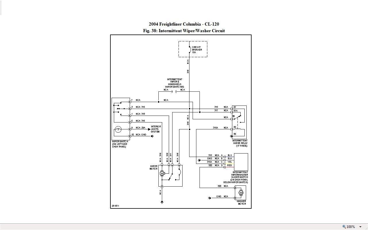 Freightliner Columbia Rear Blower Motor Wiring Diagram