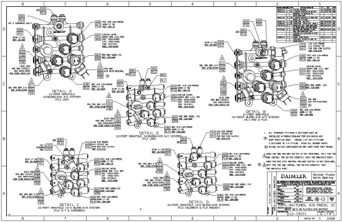 2007 Freightliner Columbia Wiring Diagrams - Wiring Diagrams