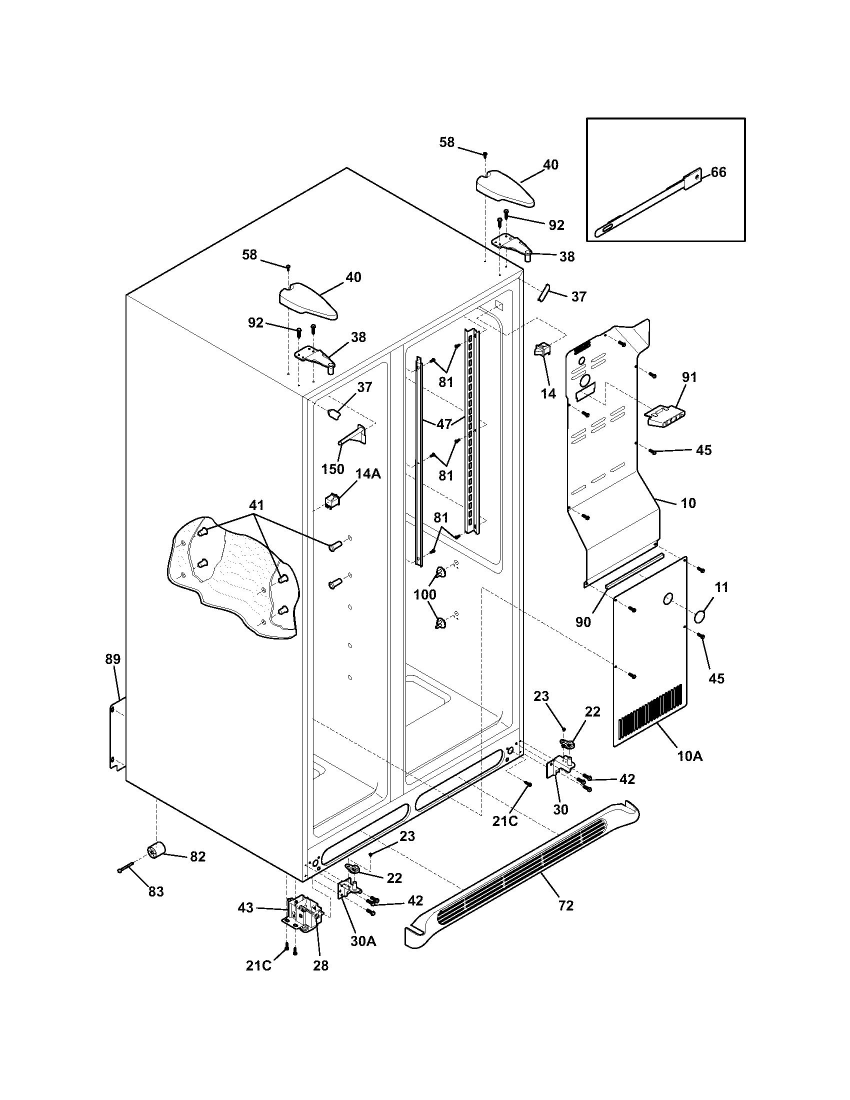 frigidaire fac107p1a2 wiring diagram